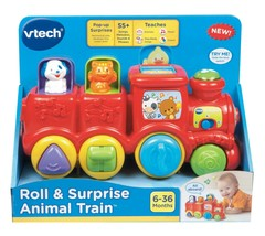 VTech, Roll and Surprise Animal Train, Learning Toy, Train Toy - $29.99
