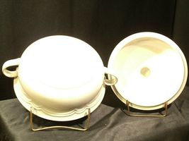 Stoneware Cumberland Mayblossom Tureen with lid by Hearthside AA-192035-G Vintag image 5