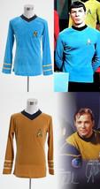 Star Trek TOS The Original Series Captain Kirk Spock Shirt Suit Uniform Costume - $36.53+