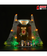 LED Light Kit for Jurassic Park: T. rex Rampage - Compatible with Lego 7... - $26.99+
