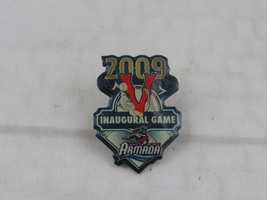 Victoria Seals Pin - 2009 Inaugural Game Pin - Celloid Cover Pin - $15.00