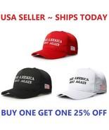 MAGA Make America Great Again President Donald Trump Hat Cap Embroidered... - $5.88