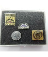 1993 MLB Colorado Rockies Inaugural Season Limited Condition Pin Set - $9.85