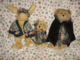 Boyds Bears 1995 Fall Bailey, Emily & Becky Plush - $21.99