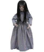 HALLOWEEN LIL SWEET VENGEANCE GIRL ZOMBIE SOUND  PROP DECORATION HAUNTED... - $49.99