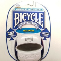 Bicycle Slots Handheld Game Electronic Pocket Size Edition Sealed - $11.64
