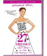 27 Dresses (2008)/40 Days and 40 Nights (2002) DVD's - $5.99