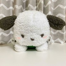 Pochacco Fluffy Relaxing Big Plush Doll Green 12in Sanrio  - $37.62
