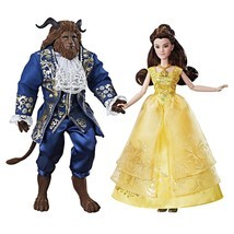 Disneys Beauty & The Beast Grand Romance Movie Doll 2 Pack Belle & Beast - $74.39