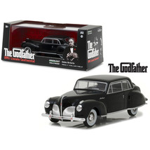 1941 Lincoln Continental Black The Godfather Movie (1972) 1/43 Diecast Model Car - $27.20