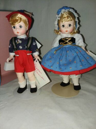 Primary image for Madame Alexander 453, 454 Hansel and Gretel 7 1/2 inch Dolls Vintage Made in USA