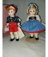 Madame Alexander 453, 454 Hansel and Gretel 7 1/2 inch Dolls Vintage Mad... - $35.99