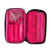 Cosmetics Bag Makeup Organizer Portable Travel Kit Organizer -A44 - $320,97 MXN