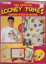 Cross Stitch Pattern Booklet-LOONEY TUNES Cross Stitch Book-Christmas in July - $8.56
