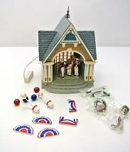 Dept 56.#56-55338 Roosevelt Park Band SHELL/ Snow Village No Outer Box - $74.99