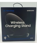 Samsung Wireless Charging Stand 2018 - Qi Charger - Black - Fast Charge ... - $21.24