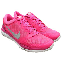 NIKE Flex Womens Sz 10 Hot Pink Athletic Running Shoes 709021-600 - $34.64