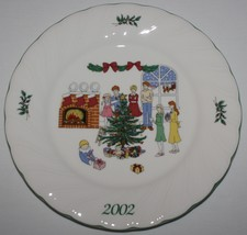 Nikko Happy Holidays 2002 Christmas Collector Plate Have Yourself Merry with Box - $19.75