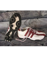 Adidas Adiprene US Burgundy White Golf Shoes Torsion System Womens 9.5 - $14.84