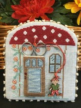 Romy's Creations Counted Cross Stitch Patterns Scissors House Design wit... - $19.95