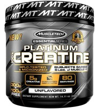 1Muscletech Creatine Essential Series primary source of anaerobic energy - 400gm - $32.85
