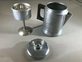 Vintage Comet Aluminum Coffee Pot 5 Cup Stove Top Percolator  - $13.98