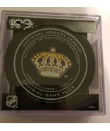 2017-18 SHERWOOD TIGER WILLIAMS LOS ANGELES KINGS LEGENDS NIGHT GAME PUC... - $54.99