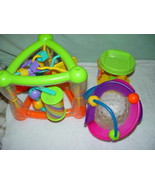 Infantino & Fun Time Set of 3 Baby Development Learning Activity Baby Toys - $12.00
