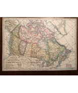 """Vintage Color CANADA and PROVINCES  Print Plate 5.5"""" x 8"""" Unframed - $14.00"""