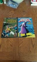 2 New universe justice comics  - $7.70