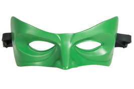 Green Lantern Mask Resin Green Masquerade Ball Eye Masks Superhero Costu... - $26.22 CAD