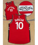 Demar DeRozan Toronto Raptors Autographed Red Adidas NBA Swingman Jersey - $600.00