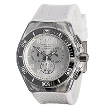 NEW TECHNOMARINE UNISEX CRUISE CALIFORNIA DIVE WATCH WITH EXTRA SILICONE... - $168.25