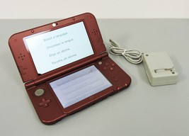 Nintendo New 3DS XL Launch Edition Red Handheld System - $104.99