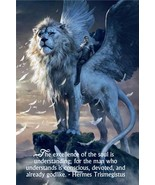 *RARE WHITE LION  SPIRT of 10th dimension supernatural power DJINN Everything  - $8,877.22