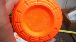 White Flyer Clay Target - Bio 2000 Vandalia Ohio - $3.88