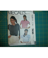 McCall's 7430 Size Small 10-12 Misses' Top For Stretch Knits - $11.64