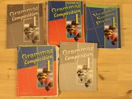 ABeka Grammar And Composition I + Vocabulary Spelling Poetry I Homeschoo... - $64.34