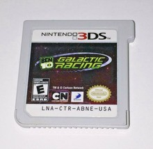 Ben 10 Galactic Racing Video Game Cartridge Only Works For Nintendo 3DS 2DS - $7.95