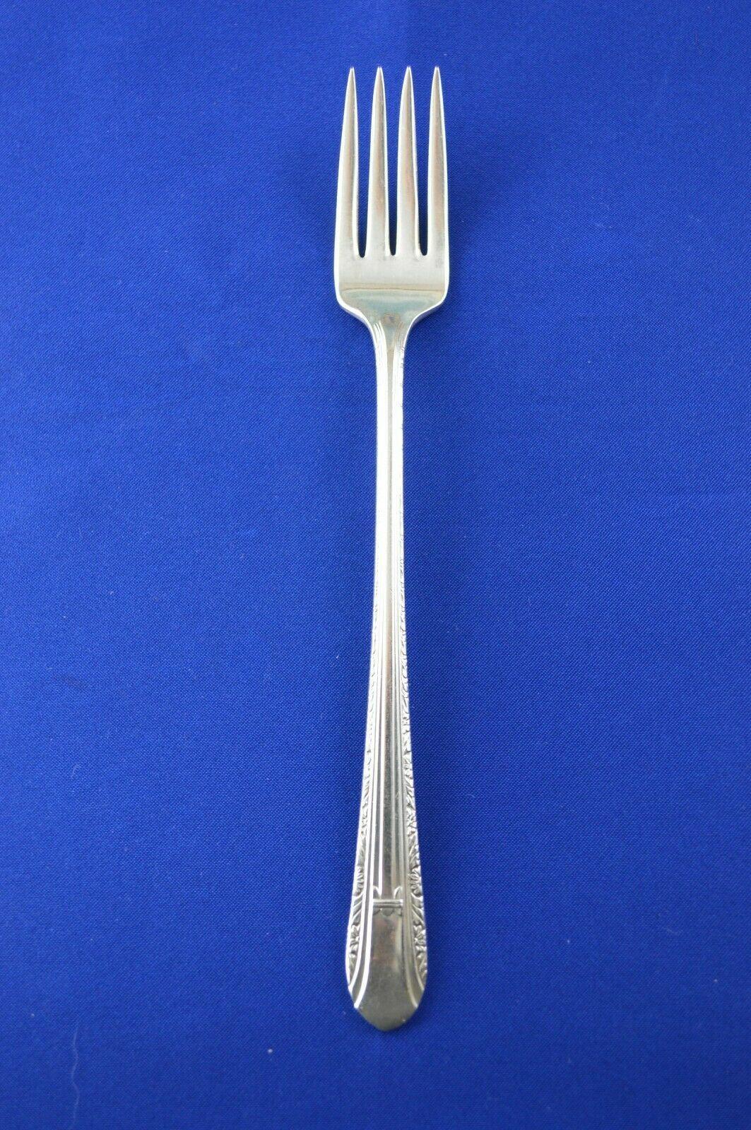 Wm Rogers Regent 1939 Grille Fork - $2.97