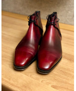 Mens Best Choice Calf Skin Leather Decent Chukka Lace Up Formal Boot - $166.73+