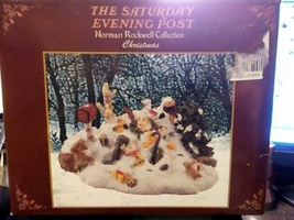 Norman Rockwell Saturday Evening Post Christmas Item - $10.00