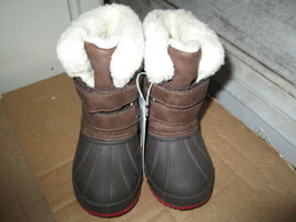 Toddler Boy's Barkley Winter Boots size 4 Brand New - $15.50