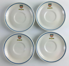 "Set (4) Vintage Jekyll Island Club Syracuse China 6"" Saucer Plate - Whit... - $79.19"