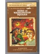 ORIGINAL Vintage 1983 Endless Quest #7 Hero of Washington Square Paperba... - $14.84