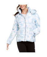 Calvin Klein Performance Hooded Puffer Jacket, Tie Dye Waterfall Combo, ... - $94.50