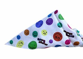 PANDA SUPERSTORE 2 Pieces of Fashionable Cute Pets Triangle Scarves/Headscarf, R