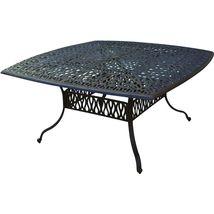 9 piece patio dining set cast aluminum outdoor furniture Elizabeth table seats 8 image 2