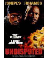 Undisputed (DVD, 2002) - $6.00