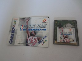 Game Boy Color NBA: in The Zone 2000 Video Gioco Cartuccia & Manuale Tes... - $14.82